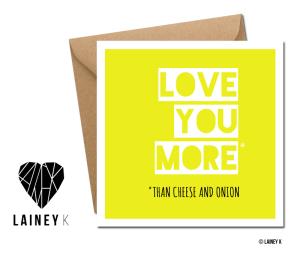 LAINEY K Valentine's day cards