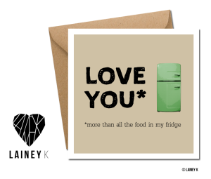 LAINEY K Valentine's day cards