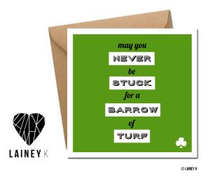 LAINEY K St. Patrick's Day cards