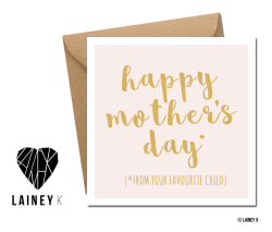 LAINEY K Mother's Day cards