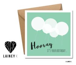 LAINEY K Birthday cards