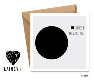 LAINEY K cards
