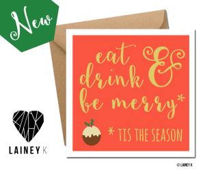 LAINEY K CHRISTMAS CARD