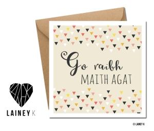 LAINEY K Irish Language Greeting Cards