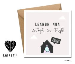 LAINEY K Irish Language Greeting Cards