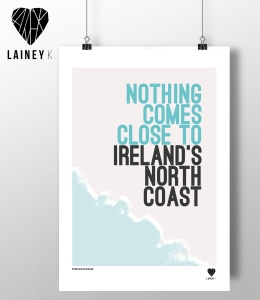 LAINEY K Northern Ireland Prints