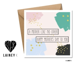 LAINEY K MOTHER'S DAY CARD