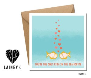 LAINEY K GREETING CARD